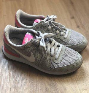 Nike Sneakers met veters lichtgrijs-roze