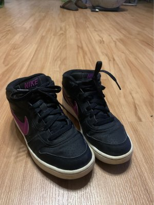 Nike Sneaker slip-on nero-lilla