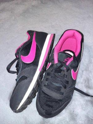 Nike Zapatos de patinador negro-rosa