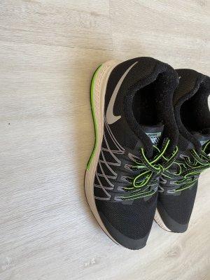 Nike Zapatilla brogue negro-verde neón