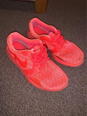 Nike Heel Sneakers bright red