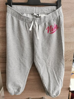 Nike 3/4 Jogging Hose grau pink