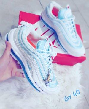Nike Zapatillas altas azul claro