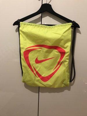 Nike Bolsa de gimnasio amarillo neón-rosa neón