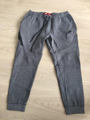 Nike Stoffen broek grijs