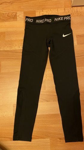 Nike pro Jeggings black-white