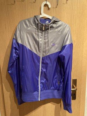 Nike Kurtka sportowa srebrny-jasny fiolet