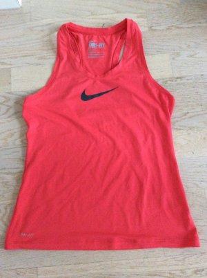 Nike Débardeur de sport rouge clair