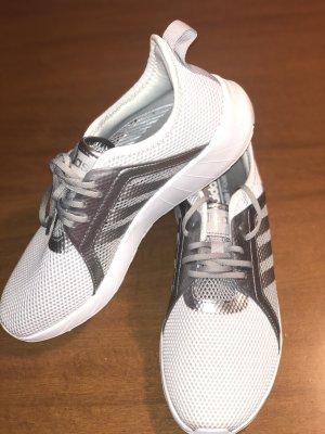 Nike Basket à lacet gris clair-blanc
