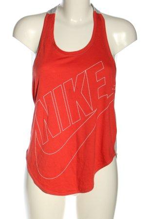 Nike A-Linien Top meliert Casual-Look