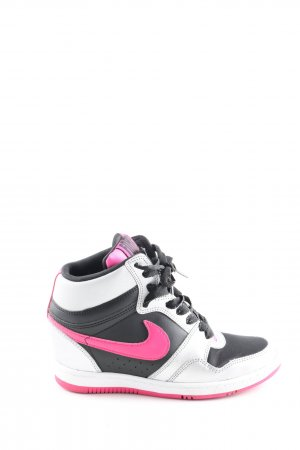 Nike Heel Sneakers light grey-pink casual look