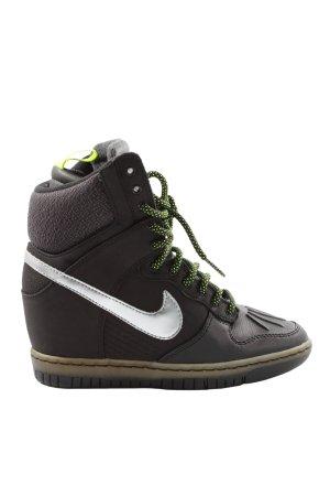 Nike Heel Sneakers black street-fashion look