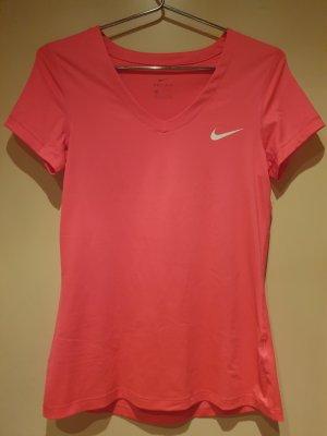 Nike Sportshirt roze-neonroos Fluweel