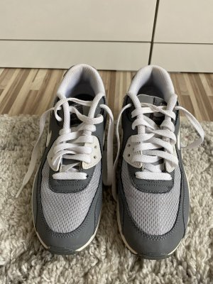 Nike Lace-Up Sneaker grey-white