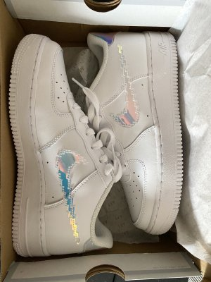 nike air force 1 Lace-Up Sneaker white