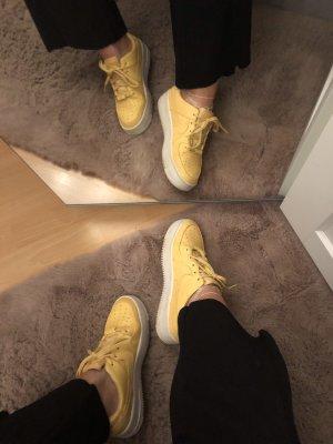 nike air force 1 Heel Sneakers white-primrose