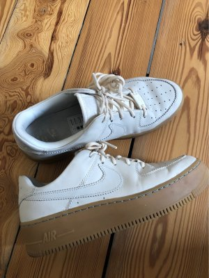 NIKE AIR FORCE 1 - AF1 in beige