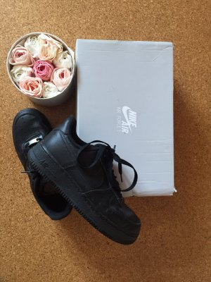 Nike Air Force 1 Damen Schwarz
