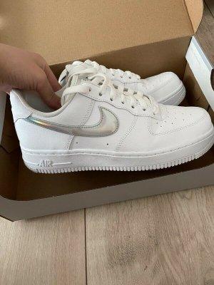 Nike Heel Sneakers white leather