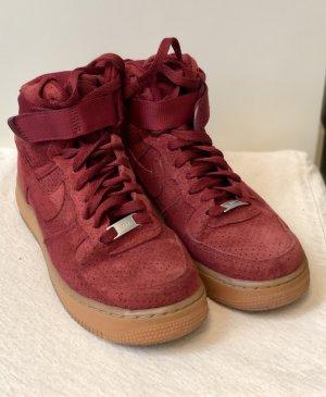 nike air force 1 High Top Sneaker russet