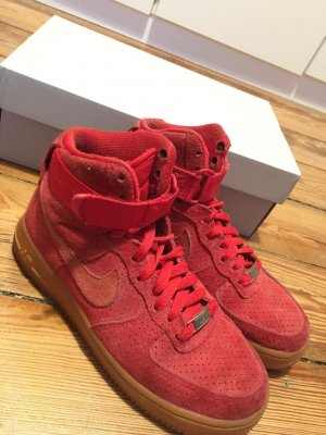 Nike air Force 1 high suede rot