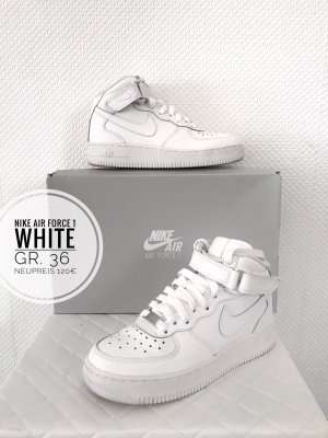 Nike air Force 1 mir weiß White 36 sneaker Schuhe blogger Kult vintage