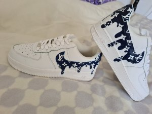 Nike air force 1 schuhe custom gr 42
