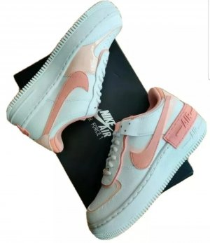 Nike Air Force 1 Shadow summit white /pink quartz Gr. 39 Neu