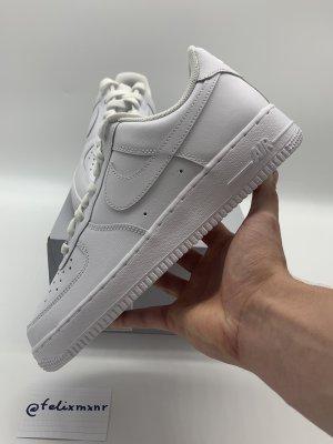 Nike Air Force 1 triple white weiß weiss - 42