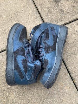 Nike Zapatillas altas azul oscuro