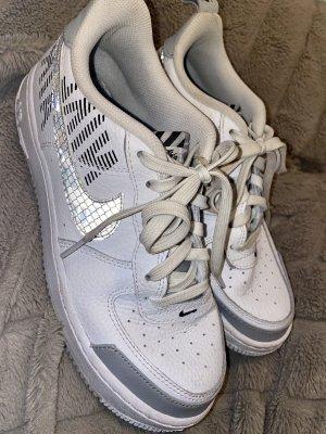 nike air force 1 Buty skaterskie biały-jasnoszary