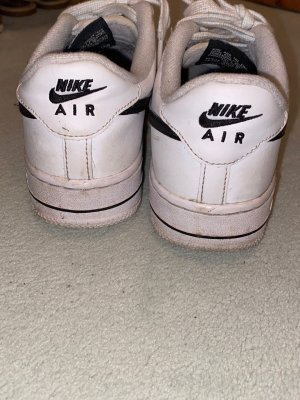 nike air force 1 Skaterschoenen wit-zwart