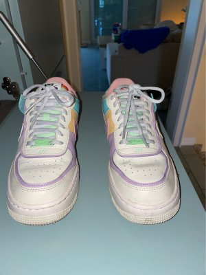 Nike Air Force AF1 Low Sneaker Blogger Shadow Tropical Pastell 37
