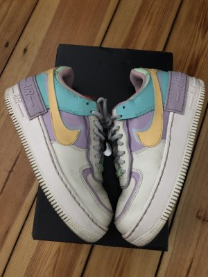 Nike Air Force AF1 Low sneaker Blogger Shadow tropical Pastell 37 flieder