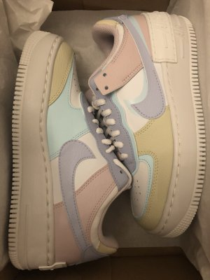 Nike Air Force AF1 Low sneaker Shadow tropical Pastell