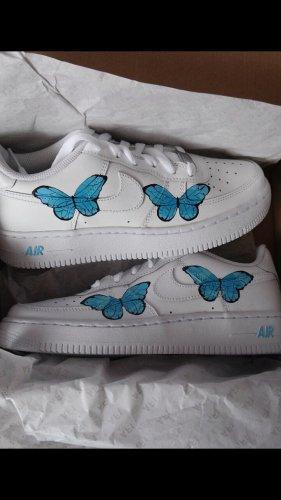 Nike Air Force Gr.40 custom Schmetterling