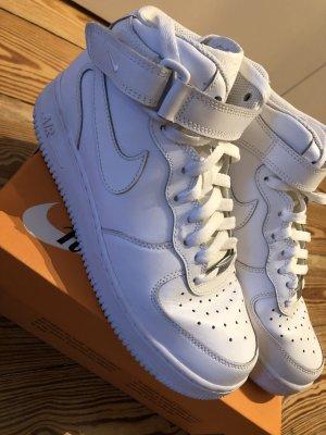Nike Wysokie trampki biały Skóra