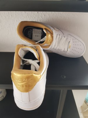 Nike air force schuhe gold gr 40