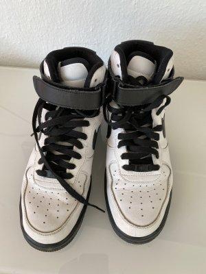 Nike Air ID weiß Schwarz 42,5 High Top Sneaker