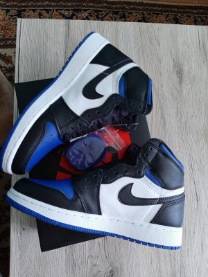 nike air jordan 1 blue toe 37.5 original mit Rechnung