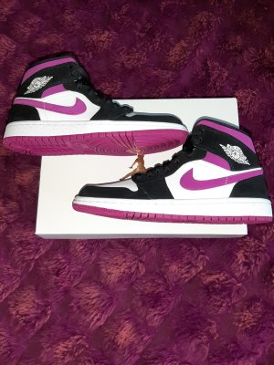 nike air jordan 1 flower lila purple magenta 36.5 original mit Rechnung