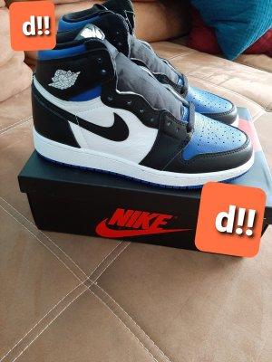 nike air jordan 1 in 37.5 blue toe Original