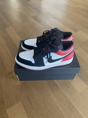 Nike air Jordan 1 Low white black gym red Eu 40