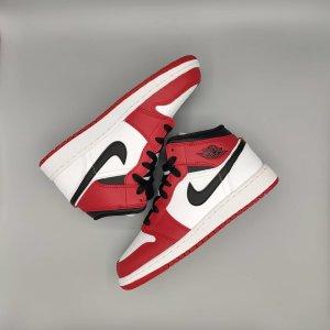 Nike Air Jordan 1 Mid Chicago 2020 Sneaker Schuhe Limitiert 36 NEU!