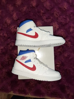 nike air jordan 1 royal blau rot superman Original mit RECHNUNHG