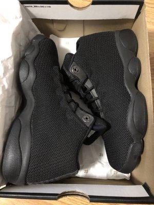 Air Jordan Zapatilla brogue negro