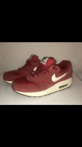 Nike Zapatilla brogue rojo oscuro