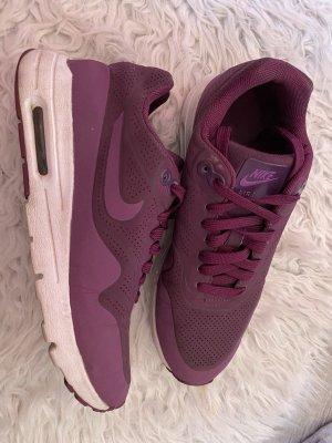 Nike Sneakers met veters bruin-paars-donkerpaars