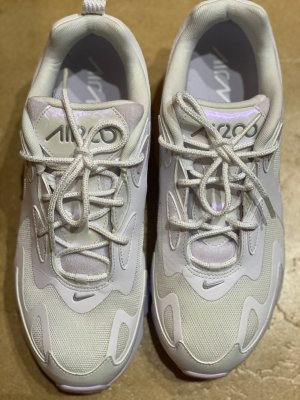 Nike Air Max 200 - Sneaker Low - withe/barely/grape/metallic Silver