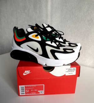 Nike Air Max 200 Sneaker White-black-bright-Crimson US 5,5Y / UK 5 / EUR 38